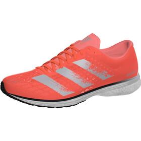 adidas Adizero Adios 5 Shoes Women, signal coral/silver metal/core black